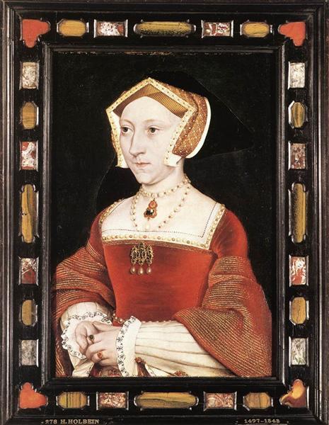 Portrait of Jane Seymour, c.1537 - Ганс Гольбейн Младший