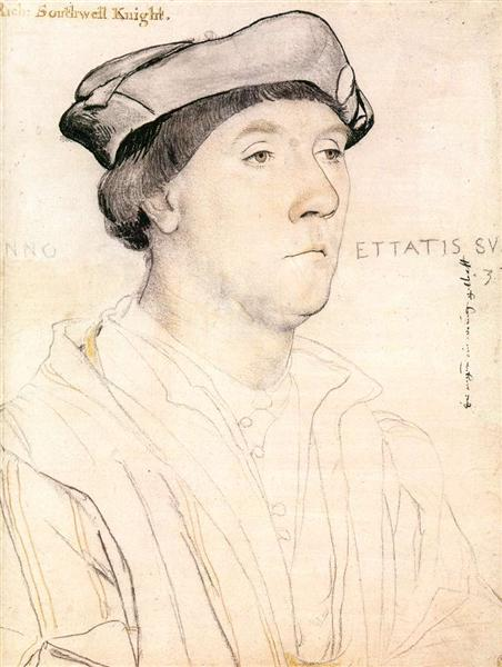 Portrait of Sir Richard Southwell, c.1537 - Hans Holbein the Younger