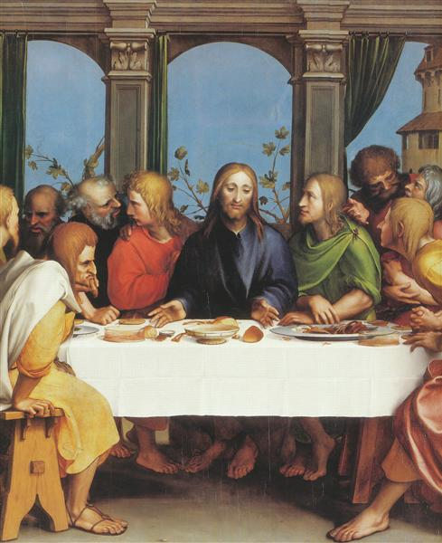 The Last Supper - Hans Holbein the Younger