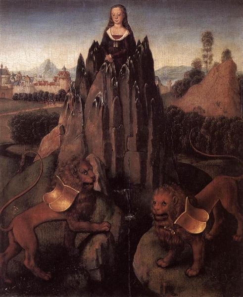 Allegory with a Virgin, 1479 - 1480 - Hans Memling