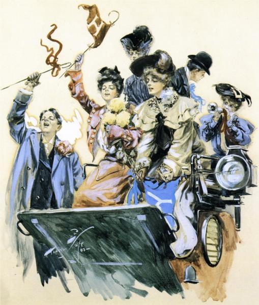 Ladies Out, 1903 - Харрісон Фішер