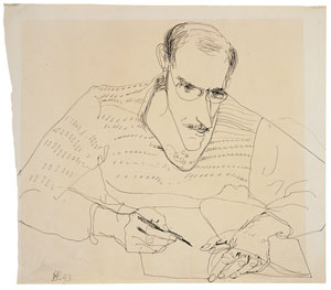 Saul Steinberg, 1950 - Hedda Sterne