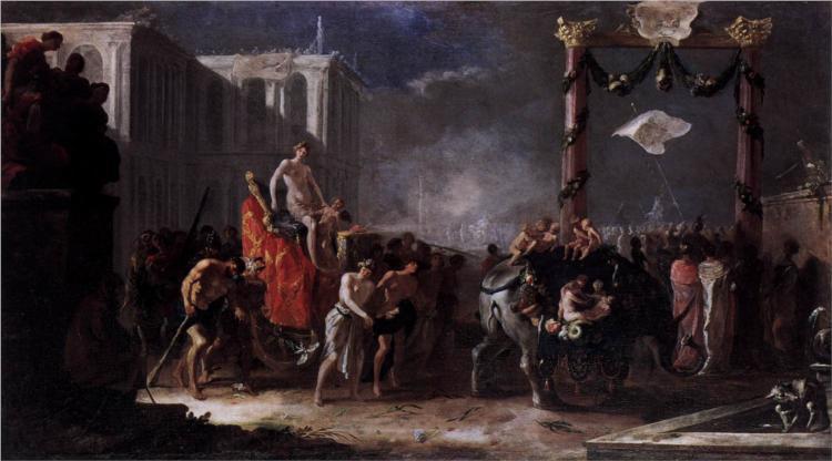 Triumph of Venus, 1645 - Heinrich Schonfeld