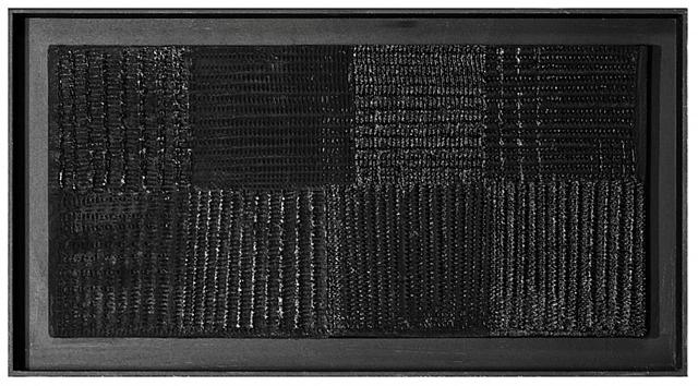 Schwarzes Lichtrelief (Black Relief), 1959 - Heinz Mack