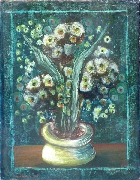 Blumenstilleben, 1954 - Helen Dahm