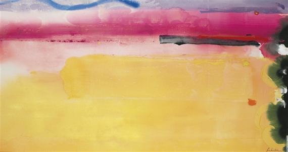 Black-Eyed Susan, 1988 - Helen Frankenthaler