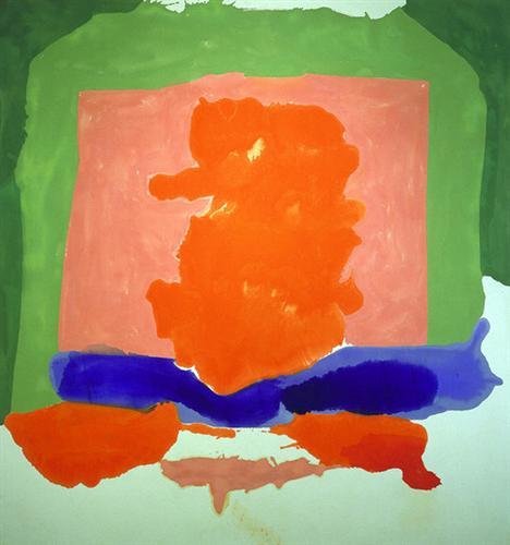 Small's Paradise - Helen Frankenthaler