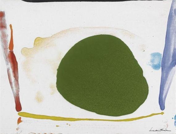 Thanksgiving Day, 1973 - Helen Frankenthaler