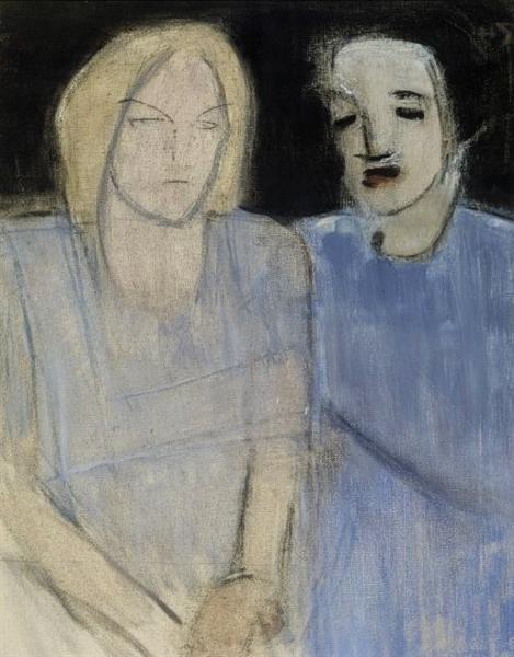 Friends, 1942 - Helene Schjerfbeck