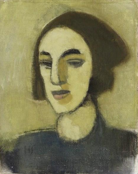 Girl from Loviisa, 1941 - Helene Schjerfbeck