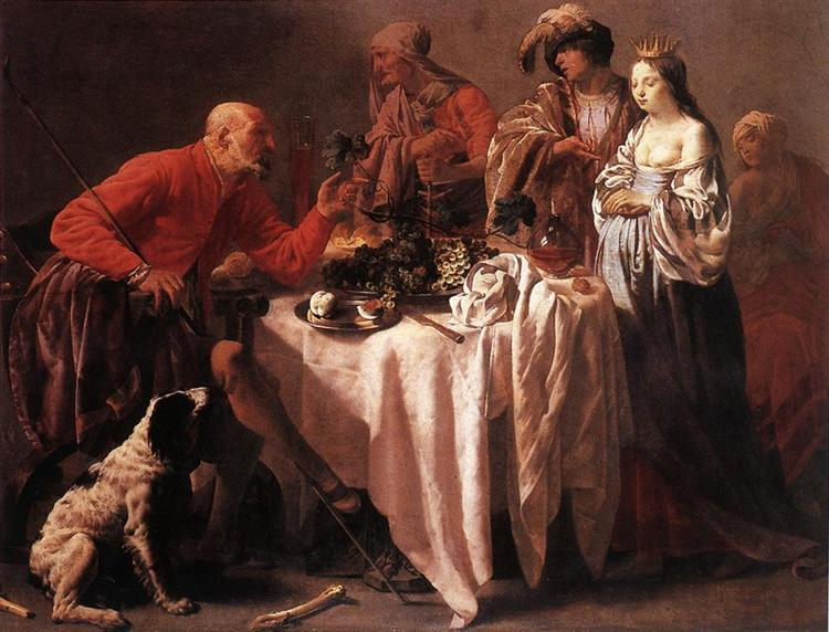 Jacob Reproaching Laban, 1628 - Hendrick Terbrugghen