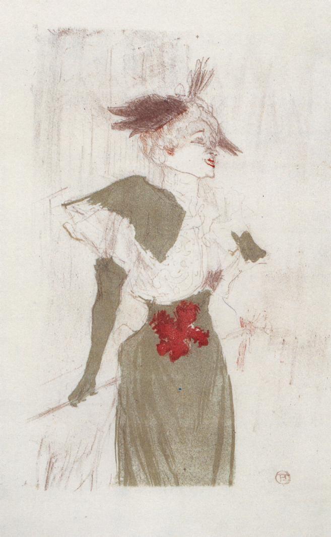 Mademoiselle marcelle lender standing 1895 henri de - Mademoiselle marcelle ...