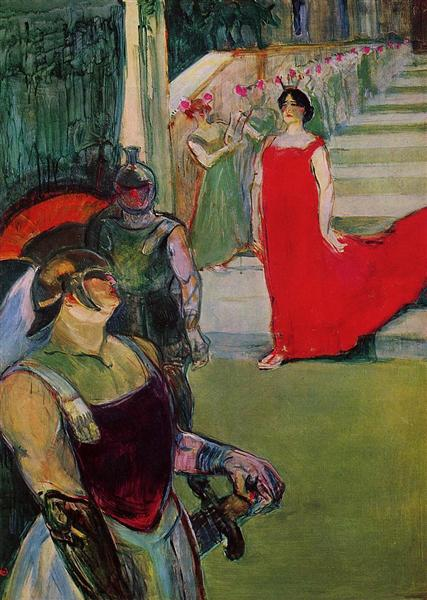 Messaline, 1900-1901 - Henri de Toulouse-Lautrec