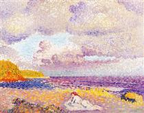 An Incoming Storm - Henri-Edmond Cross