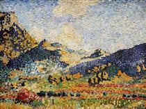 Les Petits, Montagnes Mauresques - Henri-Edmond Cross
