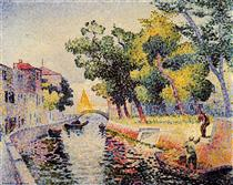 Ponte San Trovaso - Henri-Edmond Cross