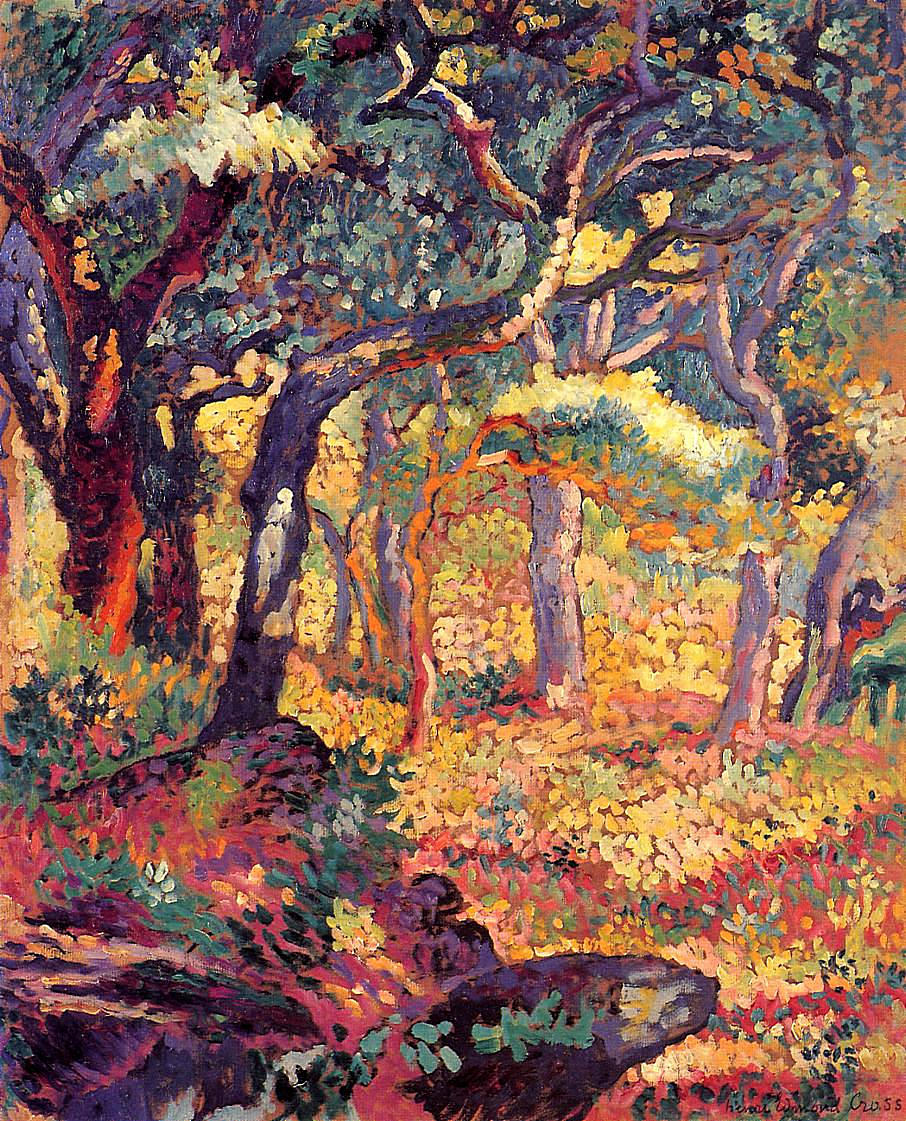 Neo Impressionism Artists: Study For The Clearing