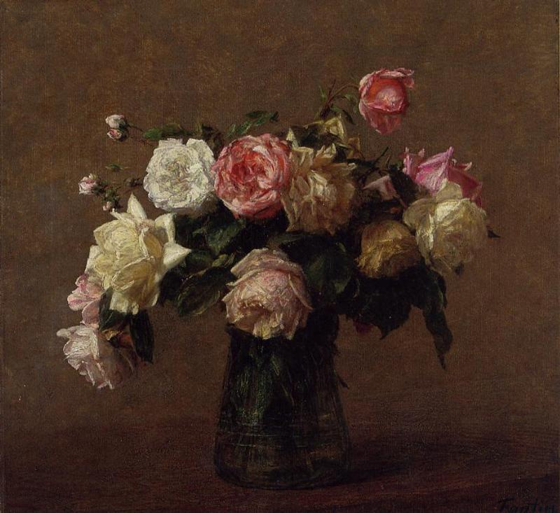bouquet of roses 1902 henri fantin latour. Black Bedroom Furniture Sets. Home Design Ideas