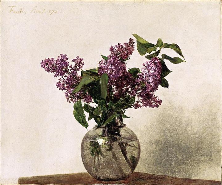 Lilacs, 1872 - Henri Fantin-Latour