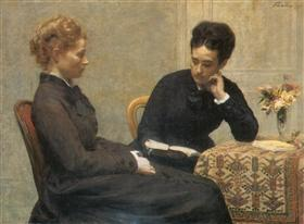 Reading - Henri Fantin-Latour
