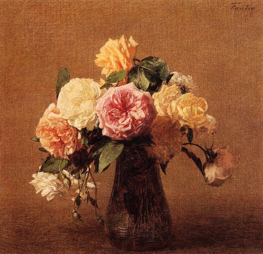 roses 1894 henri fantin latour. Black Bedroom Furniture Sets. Home Design Ideas