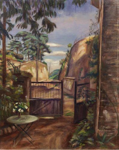 Le jardin de l 39 artiste grosrouvres henri le fauconnier for Artistes de jardin