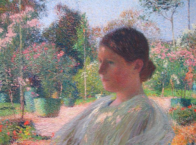 In the Garden - Henri Martin