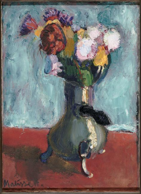 Bouquet Of Flowers In Chocolate Henri Matisse Encyclopedia Of Visual Arts
