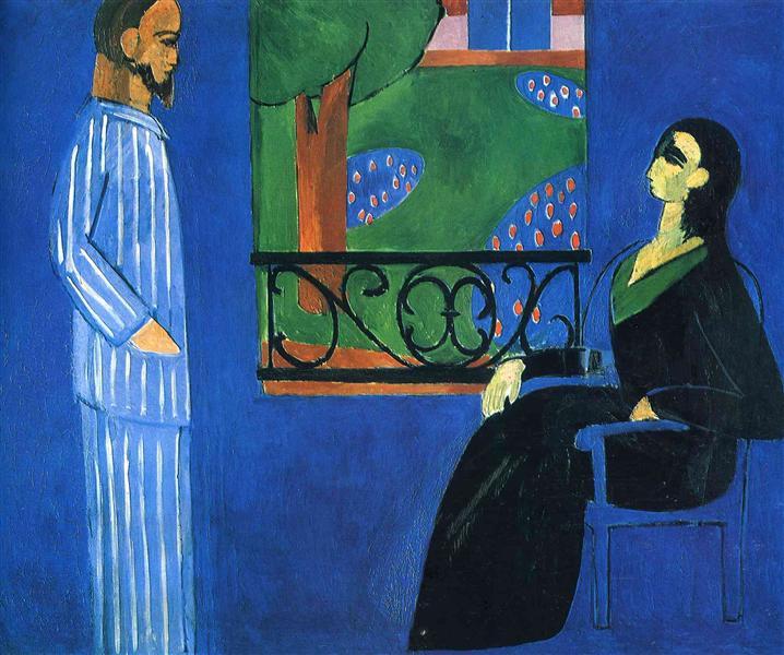 Conversation, 1909 - 1912 - Henri Matisse