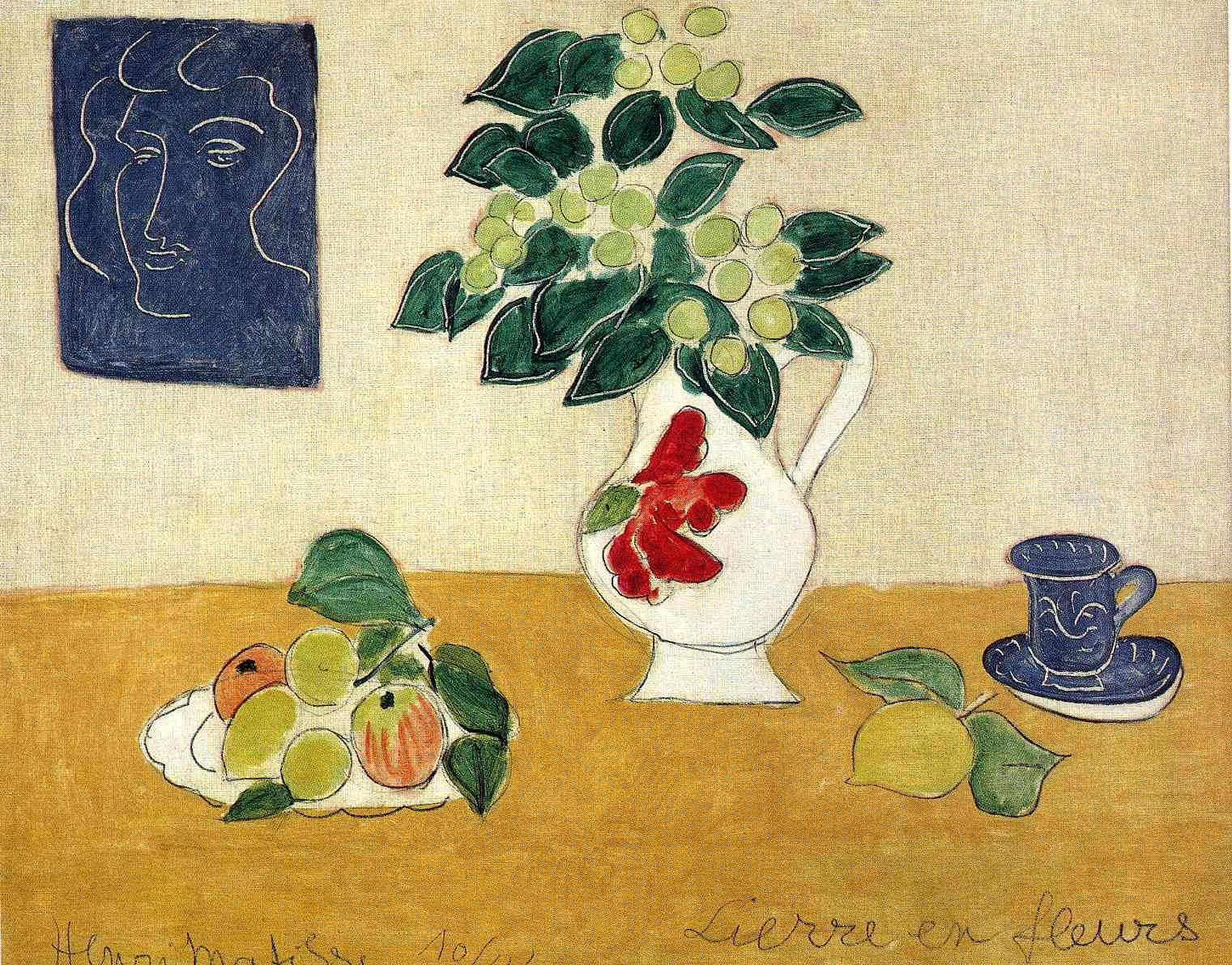 Matisse Flowers Ivy in...