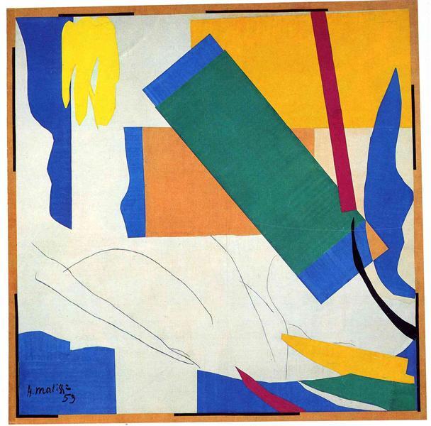Memory of Oceania, 1952 - 1953 - Henri Matisse