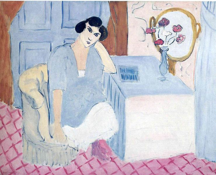 The Innatentive Reader, 1919 - Henri Matisse