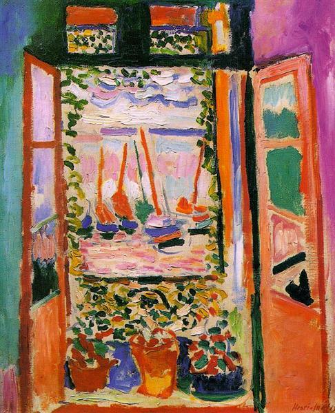 Open Window, Collioure, 1905 - Henri Matisse