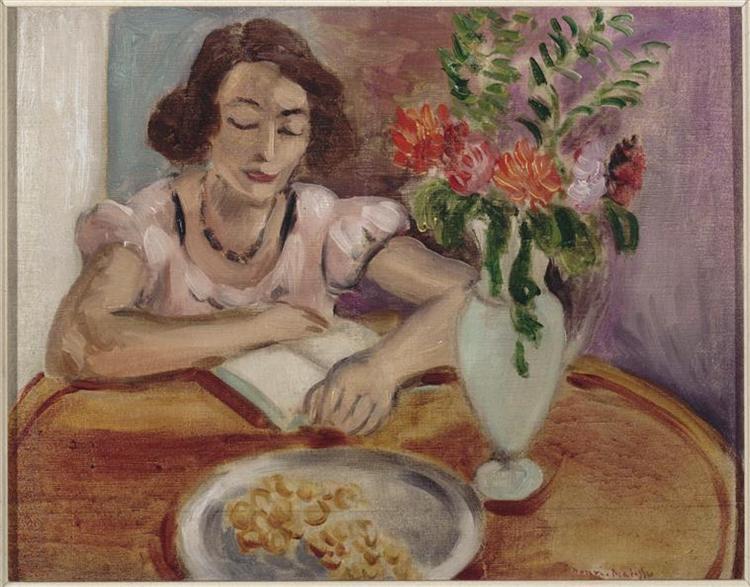 Reading girl, 1922 - Henri Matisse