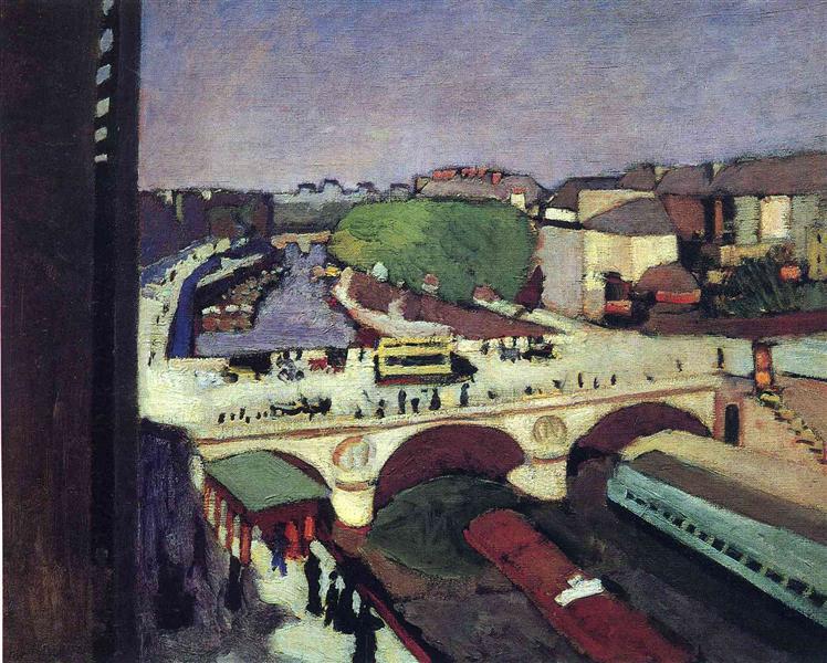 The Pont Saint-Michel, 1900 - Henri Matisse