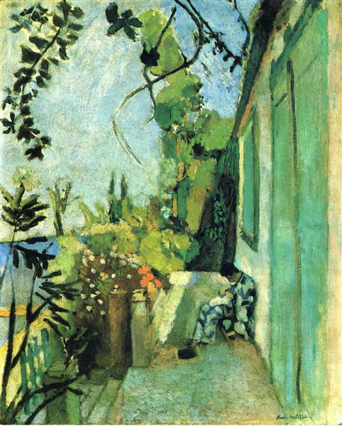 The Terrace, St. Tropez, 1904 - Henri Matisse