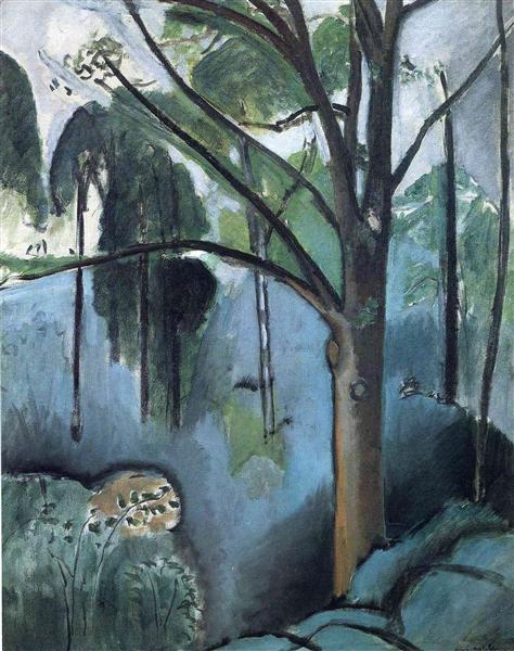 Trivaux Pond, 1917 - Henri Matisse - WikiArt.org