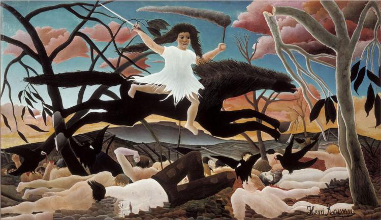 War or the Ride of Discord, 1894 - Henri Rousseau