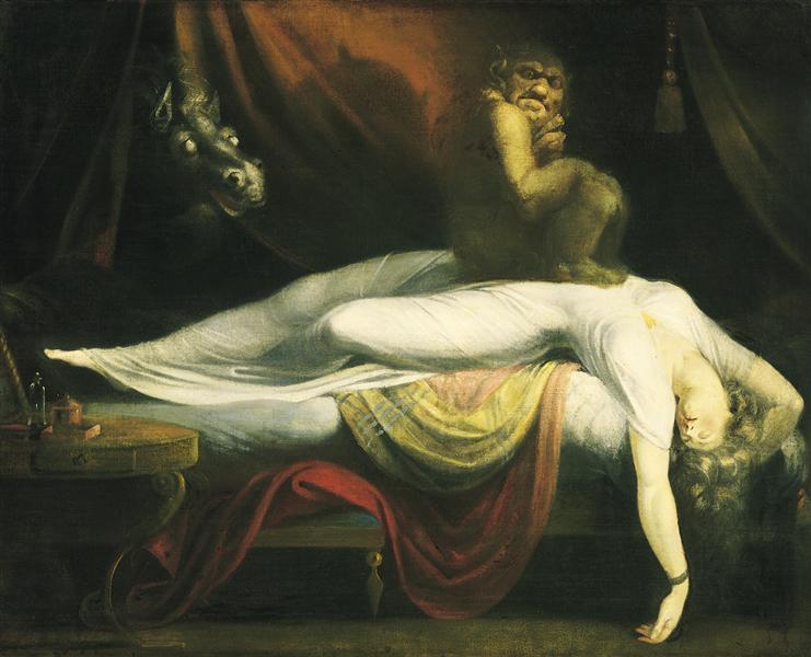 The Nightmare, 1781 - Henry Fuseli