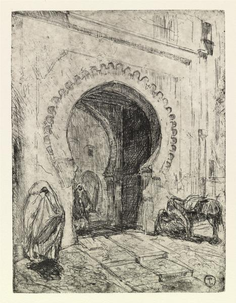 Gate in Tangier, 1915 - Henry Ossawa Tanner