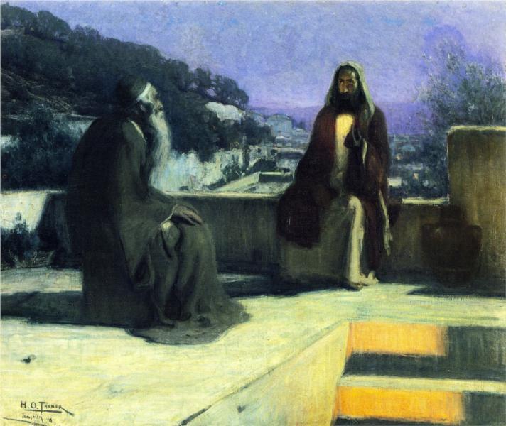 Nicodemus Visiting Jesus, 1899 - Henry Ossawa Tanner