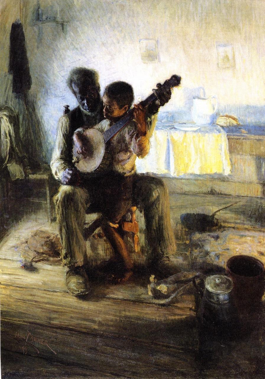 """Résultat de recherche d'images pour """"banjo player henry ossawa tanner"""""""