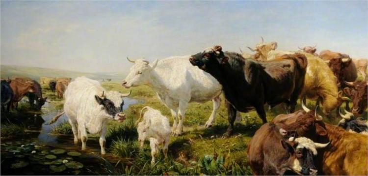 A Summer Afternoon, 1873 - Henry William Banks Davis