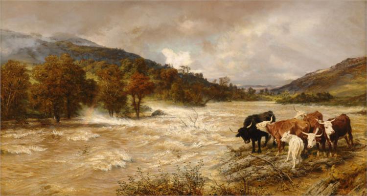 The Flood, 1886 - Henry William Banks Davis