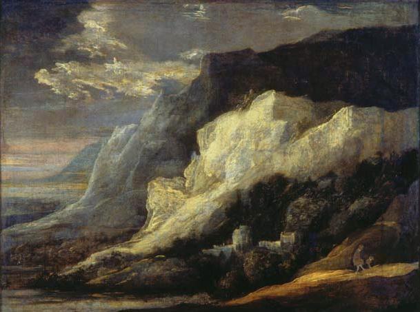 Rocky landscape - Hercules Seghers