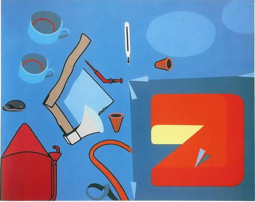 Par le sang, 1973 - Herve Telemaque