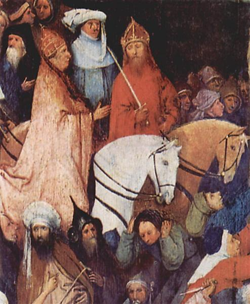 Haywain (detail), 1495 - 1500 - Hieronymus Bosch