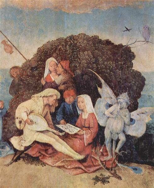 Копиця сіна (деталь), 1495 - 1500 - Ієронімус Босх