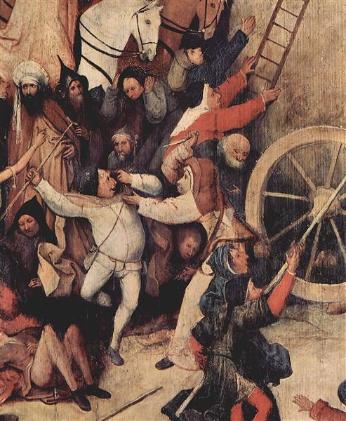 Haywain( detail), 1495 - 1500 - Hieronymus Bosch