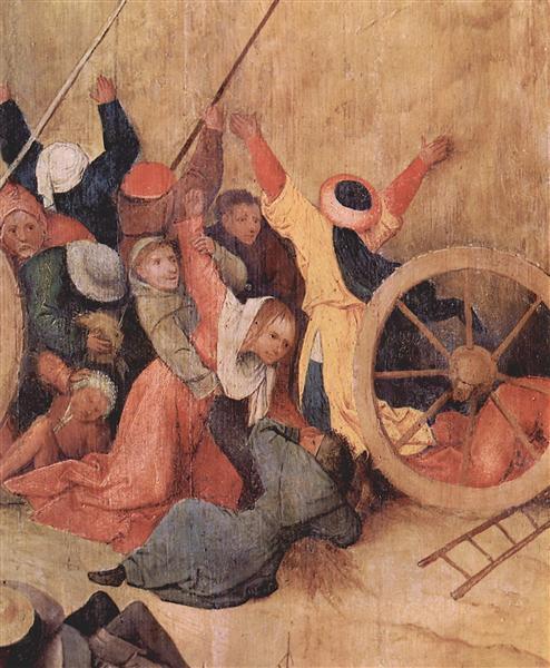 Haywain (detail), 1495 - 1500 - El Bosco